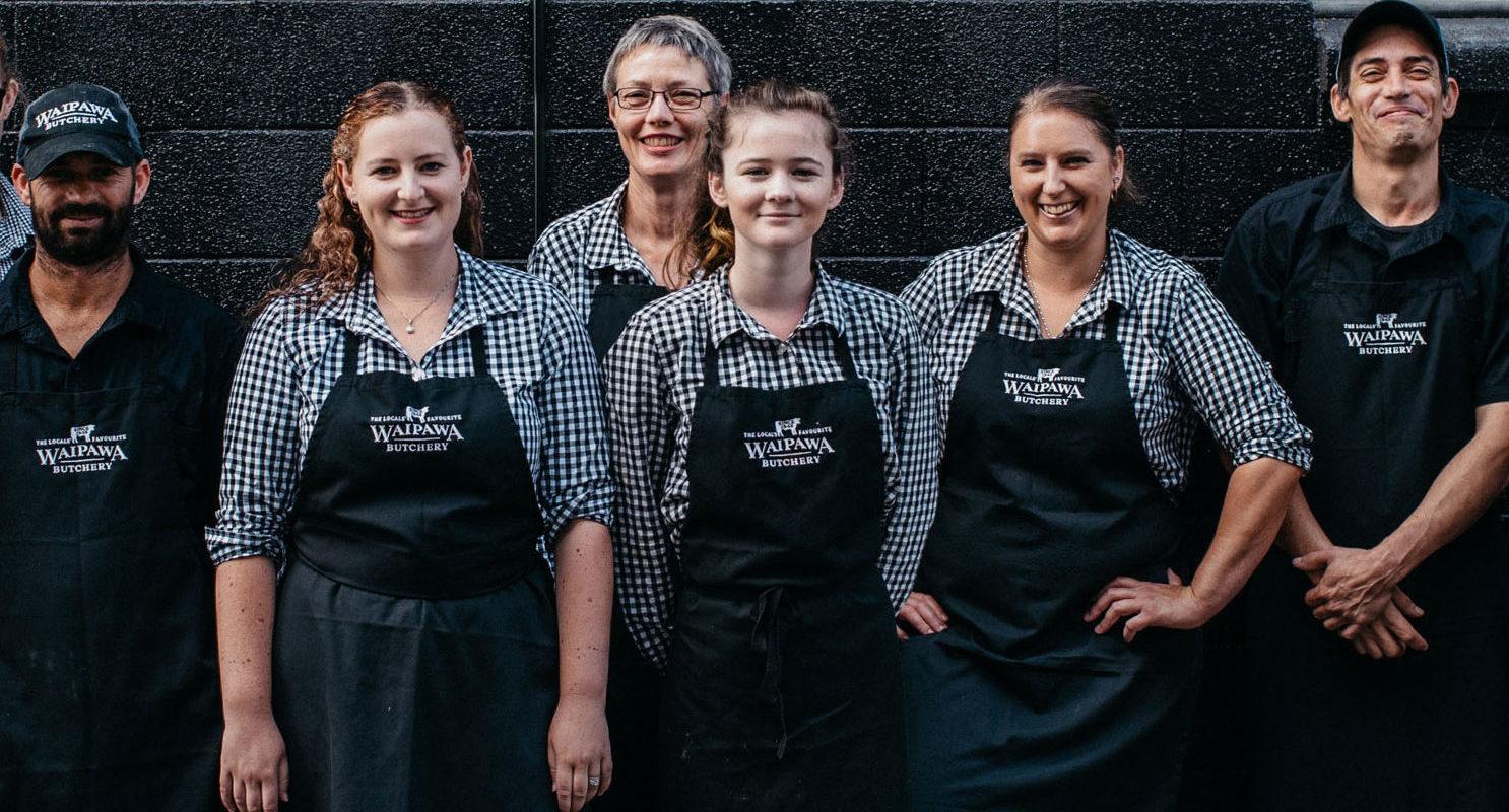 the waipawa butchery team