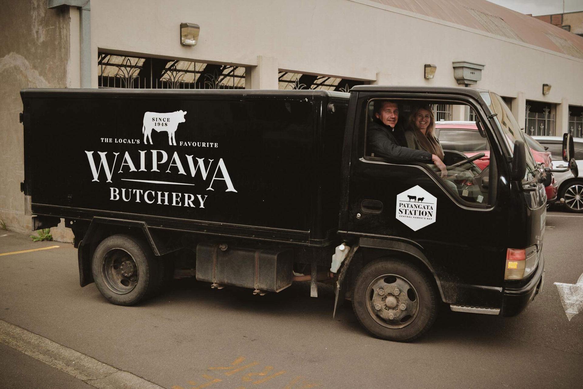 waipawa butchery delivery truck